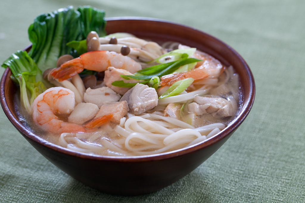 miso soup 15 minute tom yum noodle soup new year noodle soup chicken ...