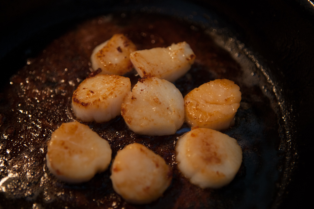 miso for soup, salad, and more! » Scallops with Miso Mustard Glaze ...